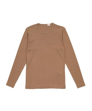 YOUNG & OLSEN SUVIN FRENCH RIB LS TEE