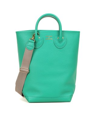 YOUNG & OLSEN EMBOSSED LEATHER HAVERSACK M