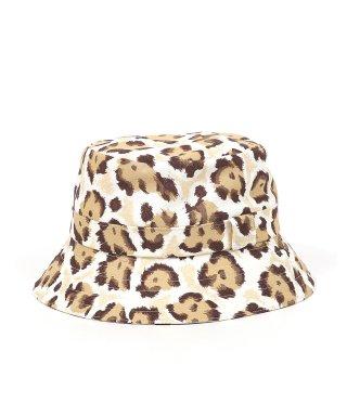YOUNG & OLSEN LEOPARD BUCKET HAT