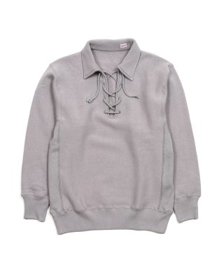 YOUNG & OLSEN 2 REVERSE LACE UP SWEAT