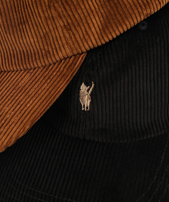 ヤングアンドオルセン JIMMY THE CAT ORGANIC CORD CAP 詳細画像7