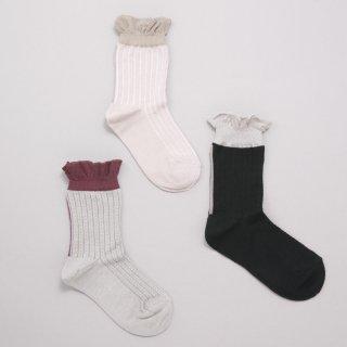 K-056 Lacy Socks<br> (11-22)