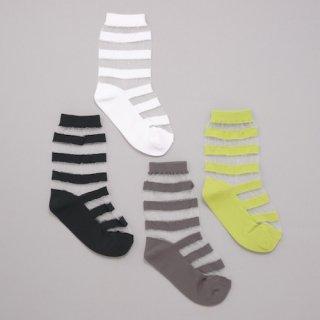 K-062 See-Through Socks<br>(13-22)