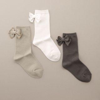 K-071 Ribbon Socks <br>(13-22)