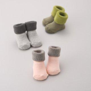 K-072 Pile Socks(12-14)