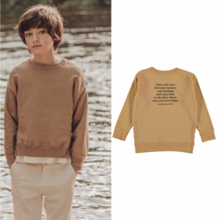 <img class='new_mark_img1' src='https://img.shop-pro.jp/img/new/icons20.gif' style='border:none;display:inline;margin:0px;padding:0px;width:auto;' />40%OFF the new society - Leon sweater with text on the back 4Y