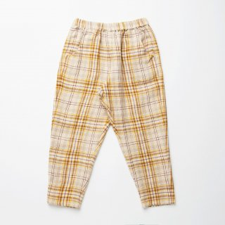 <img class='new_mark_img1' src='https://img.shop-pro.jp/img/new/icons14.gif' style='border:none;display:inline;margin:0px;padding:0px;width:auto;' />Nellie Quats - Jumping Jack Trousers / Buttermilk Plaid Linen