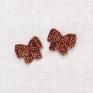 <img class='new_mark_img1' src='https://img.shop-pro.jp/img/new/icons14.gif' style='border:none;display:inline;margin:0px;padding:0px;width:auto;' />Misha and Puff - Baby Puff Bow Set / Chestnut