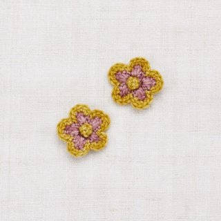 <img class='new_mark_img1' src='https://img.shop-pro.jp/img/new/icons14.gif' style='border:none;display:inline;margin:0px;padding:0px;width:auto;' />Misha and Puff - Medium Flower Clip Set / Antique Rose/Winter Wheat