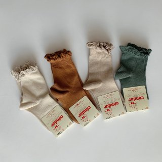 <img class='new_mark_img1' src='https://img.shop-pro.jp/img/new/icons20.gif' style='border:none;display:inline;margin:0px;padding:0px;width:auto;' />20%OFF condor - short socks with lace cuff