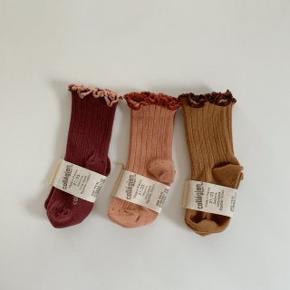 collegien - Ruffle socks