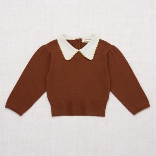 <img class='new_mark_img1' src='https://img.shop-pro.jp/img/new/icons14.gif' style='border:none;display:inline;margin:0px;padding:0px;width:auto;' />Misha and Puff - Joanne Collar Sweater / Chestnut