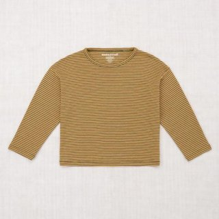 <img class='new_mark_img1' src='https://img.shop-pro.jp/img/new/icons14.gif' style='border:none;display:inline;margin:0px;padding:0px;width:auto;' />Misha and Puff - Mini Stripe Drop Shoulder Top / Mini Stripe
