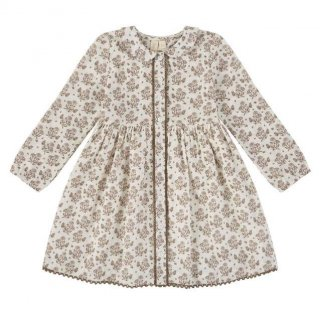 <img class='new_mark_img1' src='https://img.shop-pro.jp/img/new/icons14.gif' style='border:none;display:inline;margin:0px;padding:0px;width:auto;' />Little Cotton Clothes - Agatha dress / posey floral in nut brown