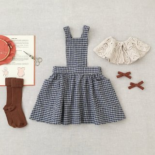 <img class='new_mark_img1' src='https://img.shop-pro.jp/img/new/icons14.gif' style='border:none;display:inline;margin:0px;padding:0px;width:auto;' />SOOR PLOOM - Harriet Pinafore / Picnic Cloth