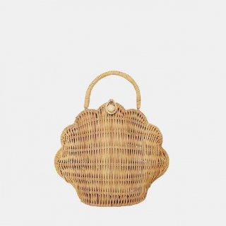 <img class='new_mark_img1' src='https://img.shop-pro.jp/img/new/icons14.gif' style='border:none;display:inline;margin:0px;padding:0px;width:auto;' />Olli Ella Rattan Shell Bag Straw