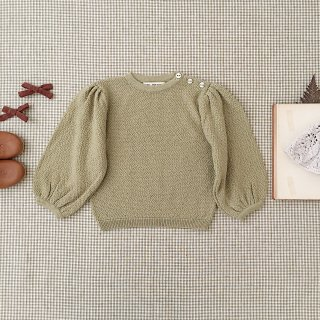 <img class='new_mark_img1' src='https://img.shop-pro.jp/img/new/icons14.gif' style='border:none;display:inline;margin:0px;padding:0px;width:auto;' />SOOR PLOOM - Agnes Sweater / Maize