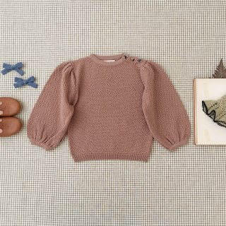 <img class='new_mark_img1' src='https://img.shop-pro.jp/img/new/icons14.gif' style='border:none;display:inline;margin:0px;padding:0px;width:auto;' />SOOR PLOOM - Agnes Sweater / Henna