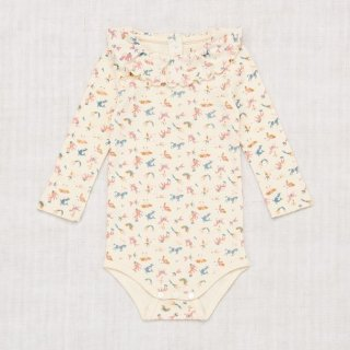 <img class='new_mark_img1' src='https://img.shop-pro.jp/img/new/icons14.gif' style='border:none;display:inline;margin:0px;padding:0px;width:auto;' />Misha and Puff - Layette Circus Print Paloma Onesie / Pale Rose