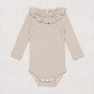 <img class='new_mark_img1' src='https://img.shop-pro.jp/img/new/icons14.gif' style='border:none;display:inline;margin:0px;padding:0px;width:auto;' />Misha and Puff - Layette Mini Stripe Paloma Onesie - Faded Hot Red Mini Stripe