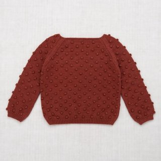 <img class='new_mark_img1' src='https://img.shop-pro.jp/img/new/icons14.gif' style='border:none;display:inline;margin:0px;padding:0px;width:auto;' />Misha and Puff - Summer Popcorn Sweater / Cocoa Bean
