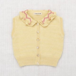<img class='new_mark_img1' src='https://img.shop-pro.jp/img/new/icons14.gif' style='border:none;display:inline;margin:0px;padding:0px;width:auto;' />Misha and Puff - ZigZag Ruffle Vest / Straw