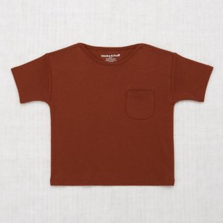 <img class='new_mark_img1' src='https://img.shop-pro.jp/img/new/icons14.gif' style='border:none;display:inline;margin:0px;padding:0px;width:auto;' />Misha and Puff - Drop Shoulder Tee / Cocoa Bean