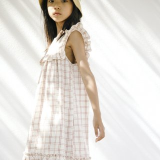 <img class='new_mark_img1' src='https://img.shop-pro.jp/img/new/icons14.gif' style='border:none;display:inline;margin:0px;padding:0px;width:auto;' />Liilu - Lina Dress / Rustic Check