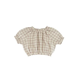 <img class='new_mark_img1' src='https://img.shop-pro.jp/img/new/icons14.gif' style='border:none;display:inline;margin:0px;padding:0px;width:auto;' />Liilu - Josefine Blouse / Rustic Check