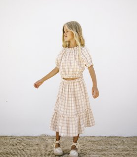 <img class='new_mark_img1' src='https://img.shop-pro.jp/img/new/icons14.gif' style='border:none;display:inline;margin:0px;padding:0px;width:auto;' />Liilu -  Dana Skirt  / Rustic Check