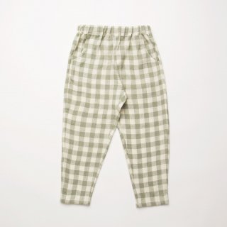<img class='new_mark_img1' src='https://img.shop-pro.jp/img/new/icons14.gif' style='border:none;display:inline;margin:0px;padding:0px;width:auto;' />Nellie Quats - Jumping Jack Trousers / Pistachio Check Linen