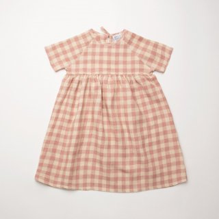 <img class='new_mark_img1' src='https://img.shop-pro.jp/img/new/icons14.gif' style='border:none;display:inline;margin:0px;padding:0px;width:auto;' />Nellie Quats - Hopscotch Dress / Rose Check Linen
