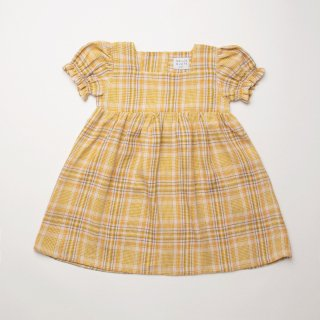 <img class='new_mark_img1' src='https://img.shop-pro.jp/img/new/icons14.gif' style='border:none;display:inline;margin:0px;padding:0px;width:auto;' />Nellie Quats - Marbles Dress / Hay Plaid Linen
