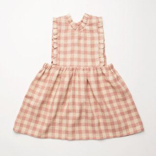 <img class='new_mark_img1' src='https://img.shop-pro.jp/img/new/icons14.gif' style='border:none;display:inline;margin:0px;padding:0px;width:auto;' />Nellie Quats - Marlow Pinafore / Rose Check Linen
