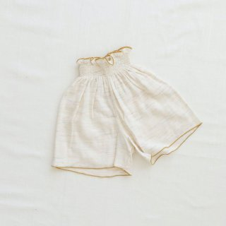 <img class='new_mark_img1' src='https://img.shop-pro.jp/img/new/icons14.gif' style='border:none;display:inline;margin:0px;padding:0px;width:auto;' />fin&vince - Smocked Culotte / confetti