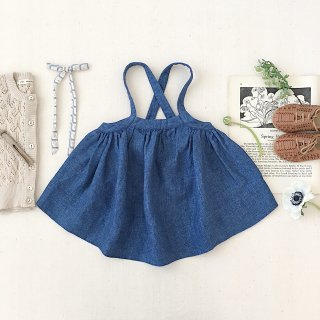 <img class='new_mark_img1' src='https://img.shop-pro.jp/img/new/icons14.gif' style='border:none;display:inline;margin:0px;padding:0px;width:auto;' />SOOR PLOOM - Eloise Pinafore / Chambray