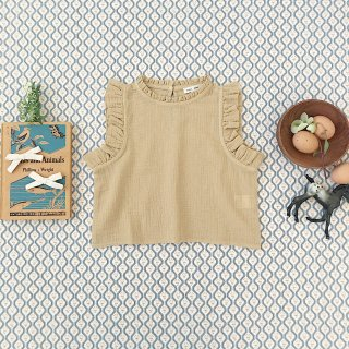 <img class='new_mark_img1' src='https://img.shop-pro.jp/img/new/icons14.gif' style='border:none;display:inline;margin:0px;padding:0px;width:auto;' />SOOR PLOOM - Thelma Camisole / Chai