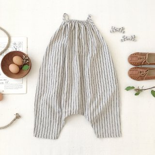<img class='new_mark_img1' src='https://img.shop-pro.jp/img/new/icons14.gif' style='border:none;display:inline;margin:0px;padding:0px;width:auto;' />SOOR PLOOM - Ines Romper / Ticking Stripe