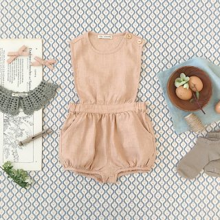 <img class='new_mark_img1' src='https://img.shop-pro.jp/img/new/icons14.gif' style='border:none;display:inline;margin:0px;padding:0px;width:auto;' />SOOR PLOOM - Fernanda Playsuit / Clay