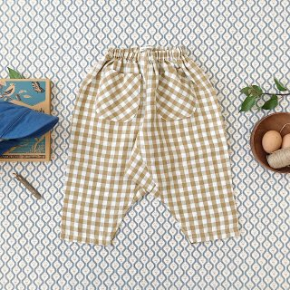 <img class='new_mark_img1' src='https://img.shop-pro.jp/img/new/icons14.gif' style='border:none;display:inline;margin:0px;padding:0px;width:auto;' />SOOR PLOOM - Otto Trousers / Gingham
