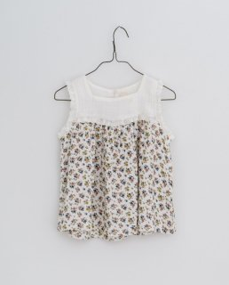<img class='new_mark_img1' src='https://img.shop-pro.jp/img/new/icons14.gif' style='border:none;display:inline;margin:0px;padding:0px;width:auto;' />Little Cotton Clothes - Frida sun top sleeveless muslin aster floral