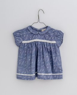<img class='new_mark_img1' src='https://img.shop-pro.jp/img/new/icons14.gif' style='border:none;display:inline;margin:0px;padding:0px;width:auto;' />Little Cotton Clothes - Juno blouse cornflower floral