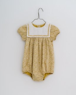 <img class='new_mark_img1' src='https://img.shop-pro.jp/img/new/icons14.gif' style='border:none;display:inline;margin:0px;padding:0px;width:auto;' />Little Cotton Clothes - Mina romper blossom floral mustard