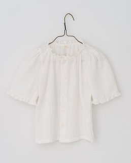 <img class='new_mark_img1' src='https://img.shop-pro.jp/img/new/icons14.gif' style='border:none;display:inline;margin:0px;padding:0px;width:auto;' />Little Cotton Clothes - Winnie blouse in muslin off-white