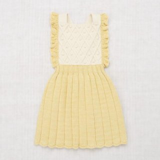 <img class='new_mark_img1' src='https://img.shop-pro.jp/img/new/icons14.gif' style='border:none;display:inline;margin:0px;padding:0px;width:auto;' />Misha and Puff - Diamond Popcorn Pinafore / Straw