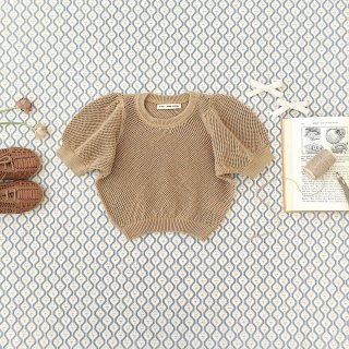 <img class='new_mark_img1' src='https://img.shop-pro.jp/img/new/icons14.gif' style='border:none;display:inline;margin:0px;padding:0px;width:auto;' />SOOR PLOOM - Mimi Knit Top / Chai