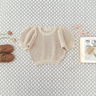 <img class='new_mark_img1' src='https://img.shop-pro.jp/img/new/icons14.gif' style='border:none;display:inline;margin:0px;padding:0px;width:auto;' />SOOR PLOOM - Mimi Knit Top / Milk