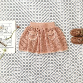 <img class='new_mark_img1' src='https://img.shop-pro.jp/img/new/icons14.gif' style='border:none;display:inline;margin:0px;padding:0px;width:auto;' />SOOR PLOOM - Norma Skirt / Clay