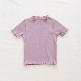 <img class='new_mark_img1' src='https://img.shop-pro.jp/img/new/icons14.gif' style='border:none;display:inline;margin:0px;padding:0px;width:auto;' />fin&vince - Ruffle hem top / lilac