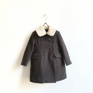 <img class='new_mark_img1' src='https://img.shop-pro.jp/img/new/icons14.gif' style='border:none;display:inline;margin:0px;padding:0px;width:auto;' />Stellina Siena Coat / microcheck